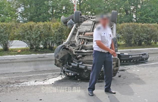 авария близ Хостинского тоннеля