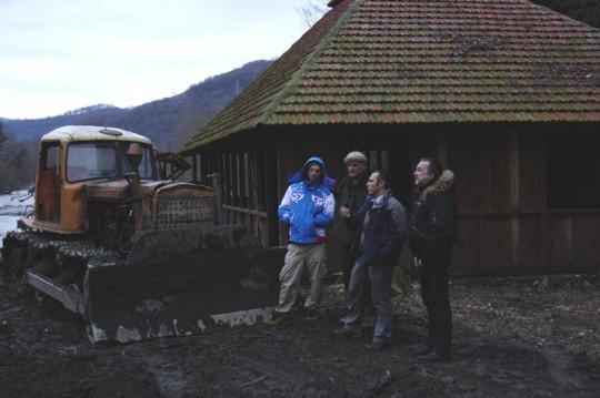 миссия ЮНЕП на строительстве совмещённой дороги