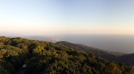 Сочи — вид с горы Ахун