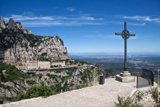Монастырь на горе Монсеррат
